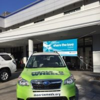 Ertle Subaru Donates to Meals on Wheels